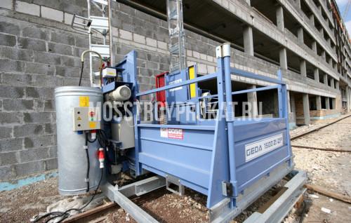 Аренда мачтового грузового подъемника Geda 1500Z/ZP в аренду и напрокат  - фото 1