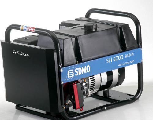 Аренда бензинового генератора SDMO SH 6000 TE в аренду и напрокат . Фото(1)