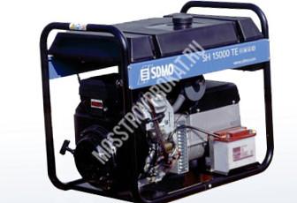 Аренда бензинового генератора SDMO SH 15000 TE в аренду и напрокат  - фото 1