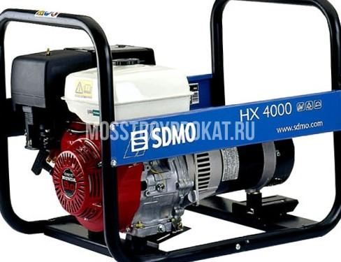 Аренда бензинового генератора SDMO HX 4000 S в аренду и напрокат  - фото 1