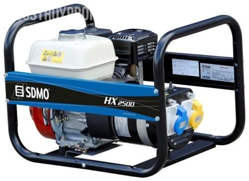 Аренда бензинового генератора SDMO HX 2500 S в аренду и напрокат . Фото(1)