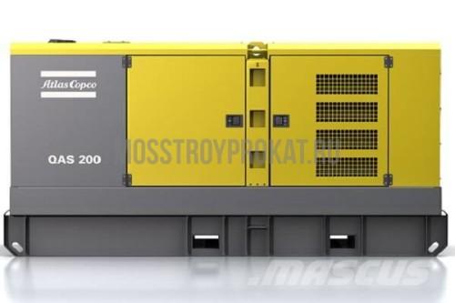 Аренда дизельного генератора Atlas Copco QAS 200 в аренду и напрокат  - фото 1