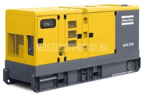 Аренда дизельного генератора Atlas Copco QAS 250 в аренду и напрокат  - фото 1