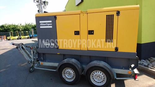 Аренда дизельного генератора Atlas Copco QAS 60 в аренду и напрокат  - фото 1