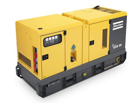 Аренда дизельного генератора Atlas Copco QAS 80 в аренду и напрокат  - фото 1