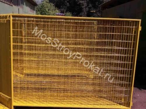 Ограждения металлические ИСО-2 (1.6 х 2 метра) в аренду и напрокат - фото 1