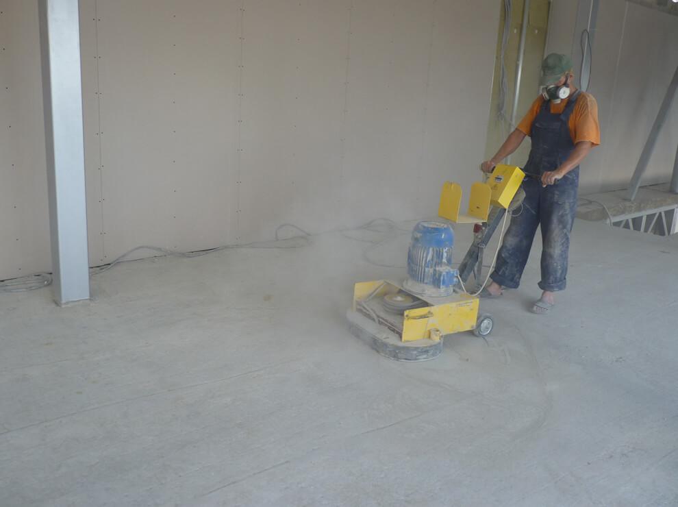 Шлифовальный инструмент по бетону