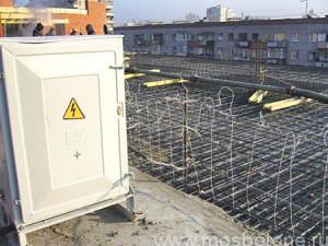 Работа прогрев бетона москва заказать раствор для фундамента цена